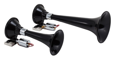 KLEINN HORNS 220 Black Dual Train Horn