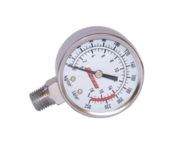 KLEINN HORNS 1025 Stainless Tank Mt Gauge