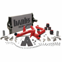 BANKS 25970 INTERCOOLER UPGRADE INCLUDES BOOST TUBES (RED POWDER COATED) FOR 1994-1997 FORD F250/F350  7.3L POWERSTROKE
