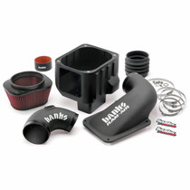 BANKS 42172 RAM-AIR COLD-AIR INTAKE SYSTEM OILED FILTER 07-10 CHEVY/GMC 6.6L LMM