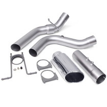 BANKS 48947 MONSTER EXHAUST SYSTEM 4-INCH SINGLE EXIT CHROME TIP 17-18 CHEVY 6.6L L5P