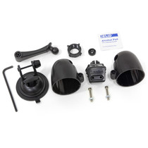 BANKS 63344 Dual Gauge Pod Kit 52mm Sticky Base Suction Mount iDash 1.8 and 52mm (2-1/16 inch) gauges