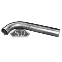 "STAINLESS DIESEL 3.00"" SXES300/ S400 HOSE OUTLET ""J"" INTERCOOLER PIPE (03-07 RAM)"