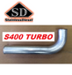 """STAINLESS DIESEL E2634   3.00"""" SXES300/ S400 HOSE OUTLET """"J"""" INTERCOOLER PIPE (03-07 RAM)"""