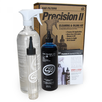 S&B FILTERS 88-0009 PRECISION II CLEANING AND OIL KIT (BLUE OIL)