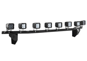 N-FAB C9930LD-TX Light Mounting Solution-Light Bar (1-30 LED) with Multi-Mount-1999-2002 Chevy Silverado-Textured Black