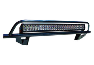 N-FAB D0430OR Light Mounting Solution-Off-Road Light Bar (1-30 LED Light) Multi-Mount-2004-2018 (2019 Classic) Ram 2500/3500-Gloss Black