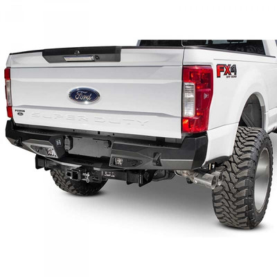 ADDICTIVE DESERT DESIGNS R161021280103 OFFROAD STEALTH FIGHTER REAR BUMPER 2017-2020 FORD F-250/350 SUPER DUTY (WITHOUT BACKUP SENSORS)