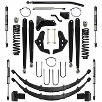 PURE PERFORMANCE F2CS6003-S1 6.0 Inch Chase Series Suspension System Stage 1 08-10 F250, F350 4x4 Front/Rear