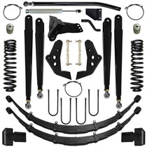 PURE PERFORMANCE F2CS6003 6.0 Inch Chase Series Suspension System 08-10 F250, F350 4x4 Front/Rear