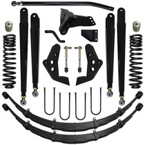 PURE PERFORMANCE F2CS6002 6.0 Inch Chase Series Suspension System 05-07 F250, F350 4x4 Front/Rear