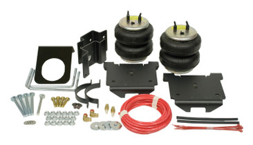 FIRESTONE 2250 Ride-Rite® Air Helper Spring Kit; Rear; Incl. Brackets; Air Helper Springs; Hardware; Air Line; And Inflation Valves; No Drilling Required;