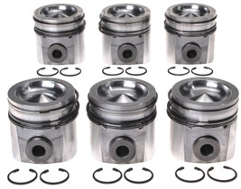 MAHLE 224-3673WR.020 PISTON WITH RINGS (.020) 2005-2007 DODGE 5.9L CUMMINS