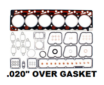 INTERSTATE MCBEE M-4089651 UPPER GASKET SET WITH .020 HEAD GASKET (89-98 CUMMINS)