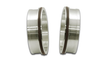 """VIBRANT PERFORMANCE 12557 STAINLESS STEEL WELD FITTING W/ O-RINGS FOR 3.5""""  OD TUBING"""