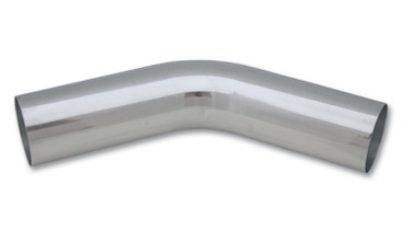 VIBRANT PERFORMANCE 2875 4in. O.D. Aluminum 45 Degree Bend-Polished