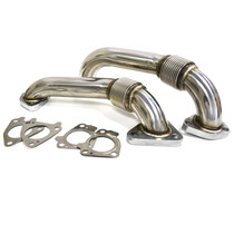 XTREME DIESEL PERFORMANCE XD264 Replacement Up-Pipes with Gaskets 01-16 GM 6.6L Duramax XD264