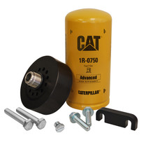 XTREME DIESEL PERFORMANCE XD171 CAT Adapter with 1R-0750 Filter Bleeder Screw & Spacer 01-16 GM 6.6L Duramax