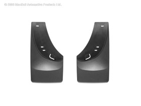 WEATHERTECH 120005 Black No Drill MudFlaps Chevrolet Silverado 1999 - 2006 with Flares; Classic Body Style