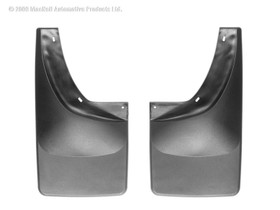WEATHERTECH 120007 Black No Drill MudFlaps Dodge Ram Mega Cab 2006 - 2008 Will NOT fit with fender flares/trim; Will not fit Dually Pickups