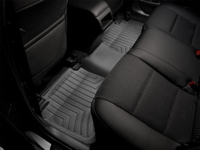 WEATHERTECH 440669 Black Rear FloorLiner Chevrolet Silverado Extended Cab 2007 - 2013 No fit: chassis cab