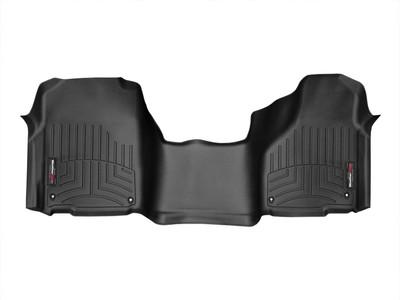 WEATHERTECH 444641 FRONT FLOORLINER 2012-2018 RAM (REGULAR CAB)(OVER-THE-HUMP)(BLACK)