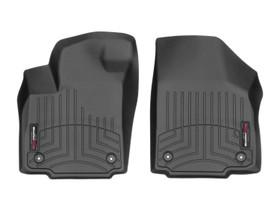WEATHERTECH 449771V BLACK FRONT FLOORLINER VINYL FLOORS DODGE RAM 2500/3500 2012 + VINYL FLOOR; AUTOMATIC TRANS; CREW CAB