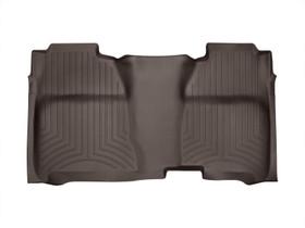 WEATHERTECH 475422 COCOA REAR FLOORLINER CHEVROLET SILVERADO 2014 + FITS CREW CAB MODELS