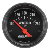 """AUTOMETER 2635 2-1/16"""" WATER TEMPERATURE, 100-250 °F, AIR-CORE, Z-SERIES"""
