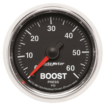 """AUTOMETER 3805 2-1/16"""" BOOST, 0-60 PSI, MECHANICAL, GS, UNIVERSAL"""