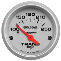 "AUTOMETER 4357 2-1/16"" TRANSMISSION TEMPERATURE, 100-250 °F, AIR-CORE, ULTRA-LITE UNIVERSAL"