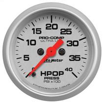 """AUTOMETER 4396 2-1/16"""" HPOP PRESSURE, 0-4K PSI, STEPPER MOTOR, ULTRA-LITE 1994-2007 FORD 7.3L/6.0L POWERSTROKE"""