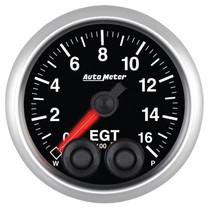 AUTOMETER 5646 UNIVERSAL PYROMETER, 0-1600 °F, STEPPER MOTOR, ELITE