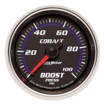 "AUTOMETER 6106 2-1/16"" BOOST, 0-100 PSI, MECHANICAL, COBALT UNIVERSAL"