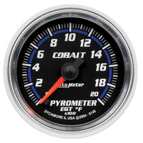 "AUTOMETER 6145 2-1/16"" PYROMETER, 0-2000 °F, STEPPER MOTOR, COBALT UNIVERSAL"