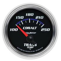 "AUTOMETER 6149 2-1/16"" TRANSMISSION TEMPERATURE, 100-250 °F, AIR-CORE, COBALT UNIVERSAL"