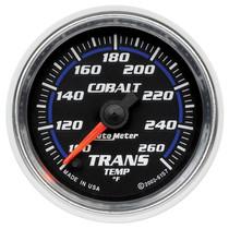 "AUTOMETER 6157 2-1/16"" TRANSMISSION TEMPERATURE, 100-260 °F, STEPPER MOTOR, COBALT UNIVERSAL"