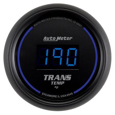 "AUTOMETER 6949 2-1/16"" TRANSMISSION TEMPERATURE, 0-340 °F, COBALT DIGITAL UNIVERSAL"