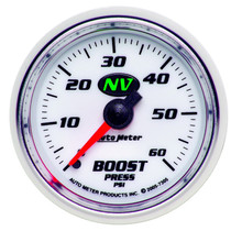 AUTOMETER 7305 2-1/16in. BOOST; 0-60 PSI; NV