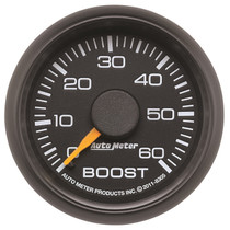 AUTOMETER 8305 2-1/16in. BOOST; 0-60 PSI; GM FACTORY MATCH