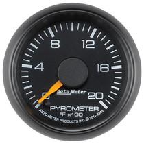 AUTOMETER 8345 2-1/16in. PYROMETER; 0-2000 deg.F; GM FACTORY MATCH
