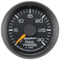 AUTOMETER 8386 2-1/16in. FUEL RAIL PRESSURE; 0-30K PSI; GM FACTORY MATCH