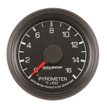 AUTOMETER 8444 2-1/16in. PYROMETER; 0-1600 deg.F; FORD FACTORY MATCH