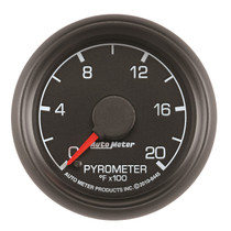 AUTOMETER 8445 2-1/16in. PYROMETER; 0-2000 deg.F; FORD FACTORY MATCH