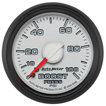 AUTOMETER 8506 2-1/16in. BOOST; 0-100 PSI; GEN 3 DODGE FACTORY MATCH