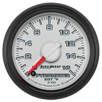 AUTOMETER 8544 2-1/16in. PYROMETER; 0-1600 deg.F; GEN 3 DODGE FACTORY MATCH