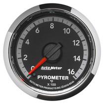 AUTOMETER 8546 2-1/16in. PYROMETER; 0-1600 deg.F; GEN 4 DODGE FACTORY MATCH