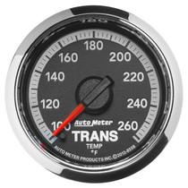 AUTOMETER 8558 2-1/16in. TRANSMISSION TEMPERATURE; 100-260 deg.F; GEN 4 DODGE FACTORY MATCH