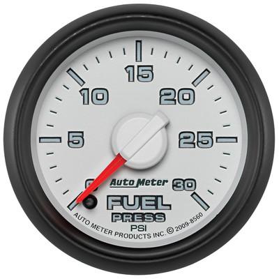 "AUTOMETER 8560 2-1/16"" FUEL PRESSURE, 0-30 PSI, STEPPER MOTOR, GEN 3 DODGE FACTORY MATCH"