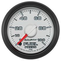 "AUTOMETER 8563 2-1/16"" FUEL PRESSURE, 0-100 PSI, STEPPER MOTOR, GEN 3 DODGE FACTORY MATCH"